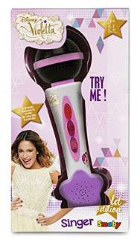 [Amazon - Plus Produkt]  Smoby 27219 – Violetta Handmikrofon für 5,08 Euro