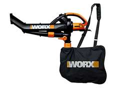 Worx WG501E 3000W Blower/ Mulcher and Vacuum with 7 Speed Settings 60€ Amazon.UK