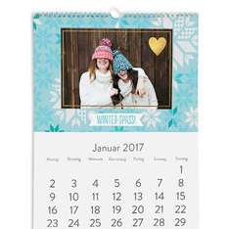 [Snapfish] GRATIS Fotokalender + 4,99€ VSK