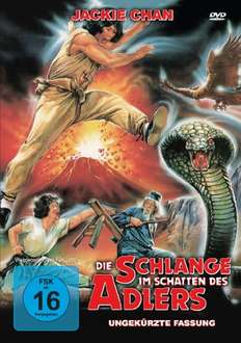 [Amazon Blitzangebot] Jackie Chan – Die Schlange im Schatten des Adlers DVD – ungekürzte Fassung!