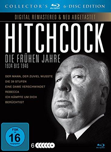 [Amazon Blitzangebot] Alfred Hitchcock – Die frühen Jahre: 1934 bis 1946 – Blu-ray Collector's Edition