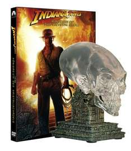 Indiana Jones 4 + Kristallschädel (Limit. SE, 2 DVDs) bei Amazon