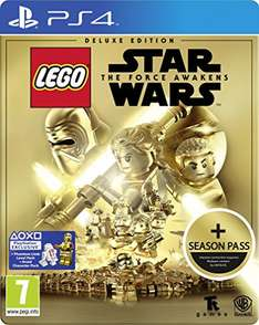 Lego Star Wars: The Force Awakens Deluxe Steelbook Edition mit Season Pass (PS4/Xbox One) für 33,44€ bei Amazon.co.uk