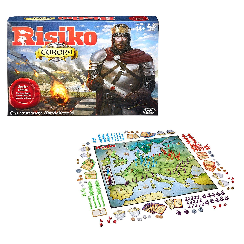 [Amazon] Hasbro Risiko Europa, Strategiespiel