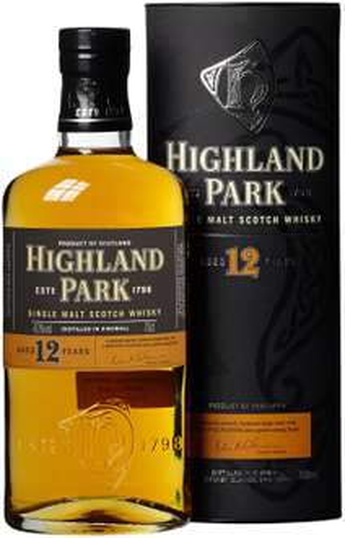 HighlandPark12 Jahre SingleMaltScotch Whisky (1 x 0.7 l) von Delinero