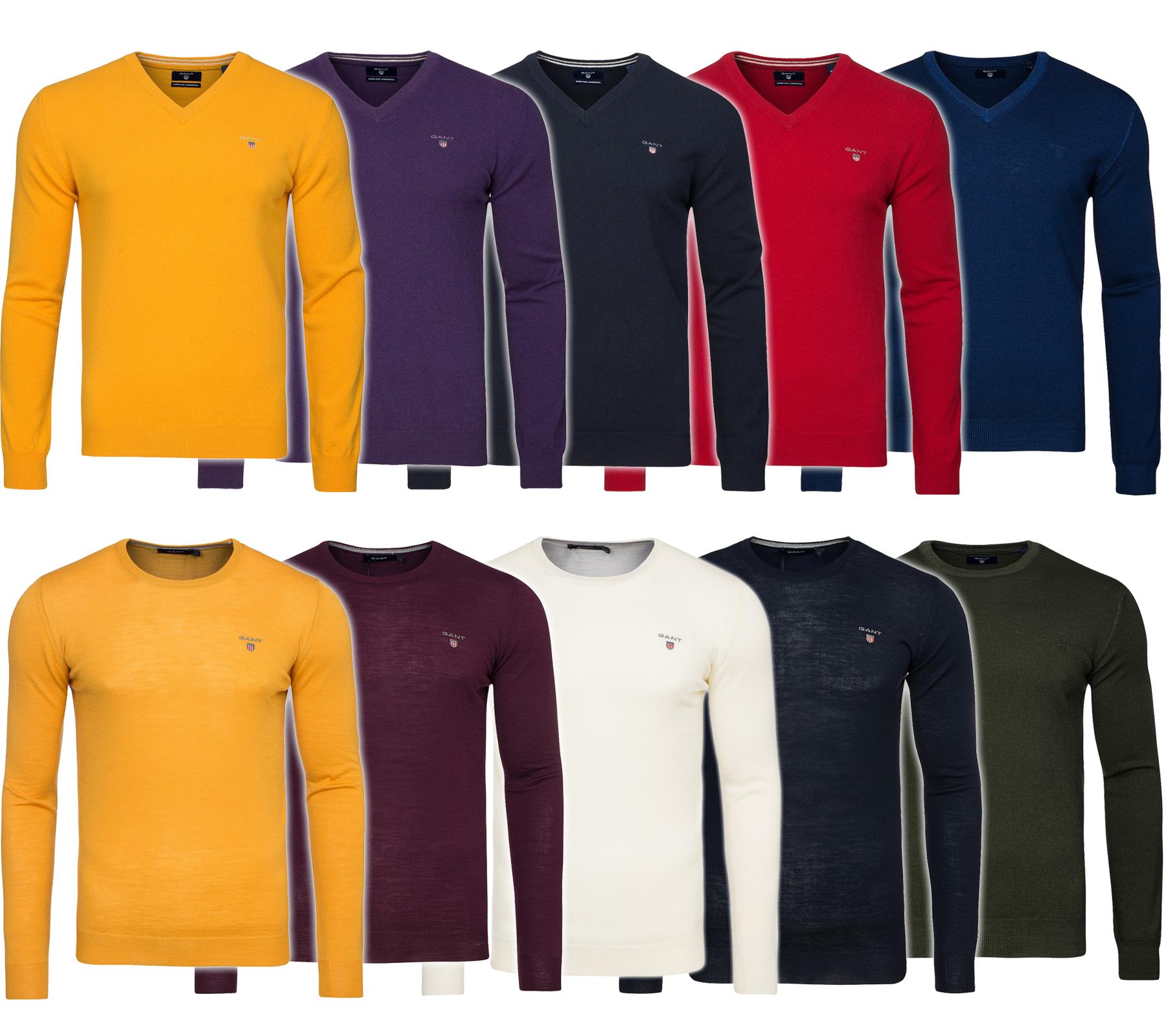GANT Merino Lambswool Sweater Herren Damen Pullover Sweat bei Outlet46