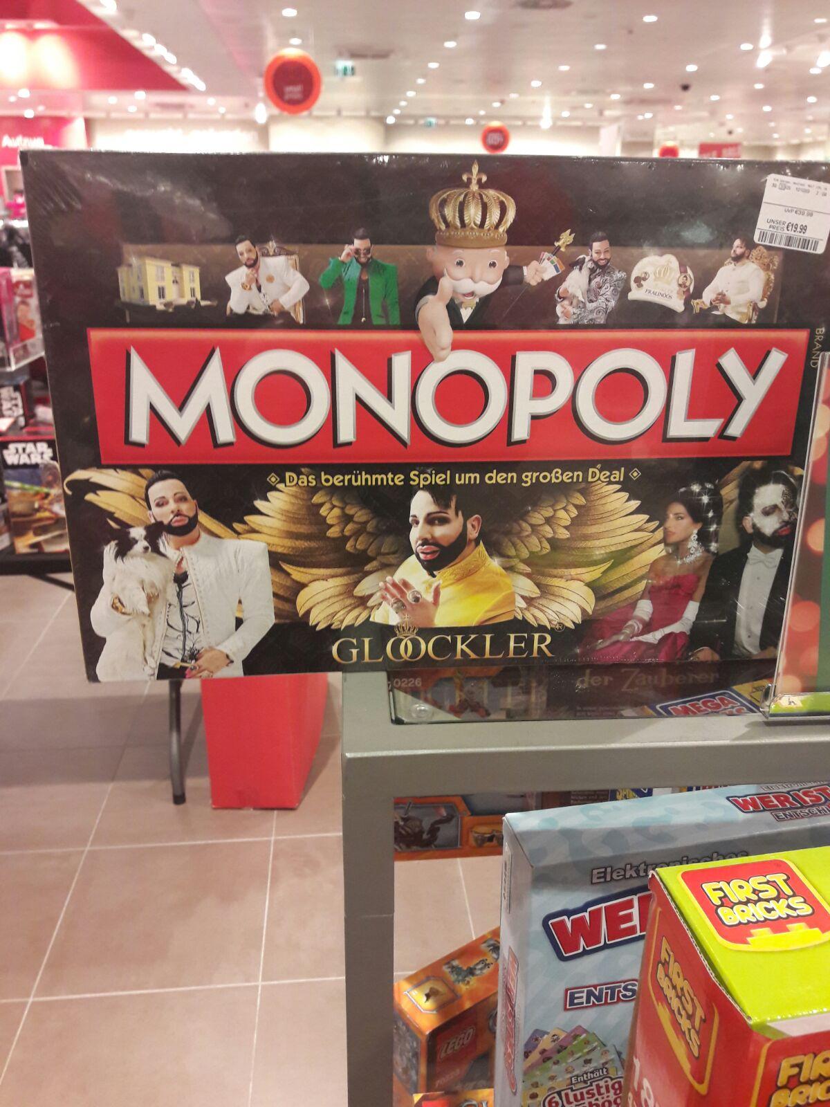 Harald Glööckler Monopoly für 20€ im TK Maxx Bremen Waterfront - nur  lokal?
