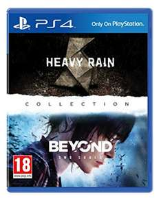 (Base.com) Heavy Rain + Beyond: Two Souls - Collection (PS4) für 24€