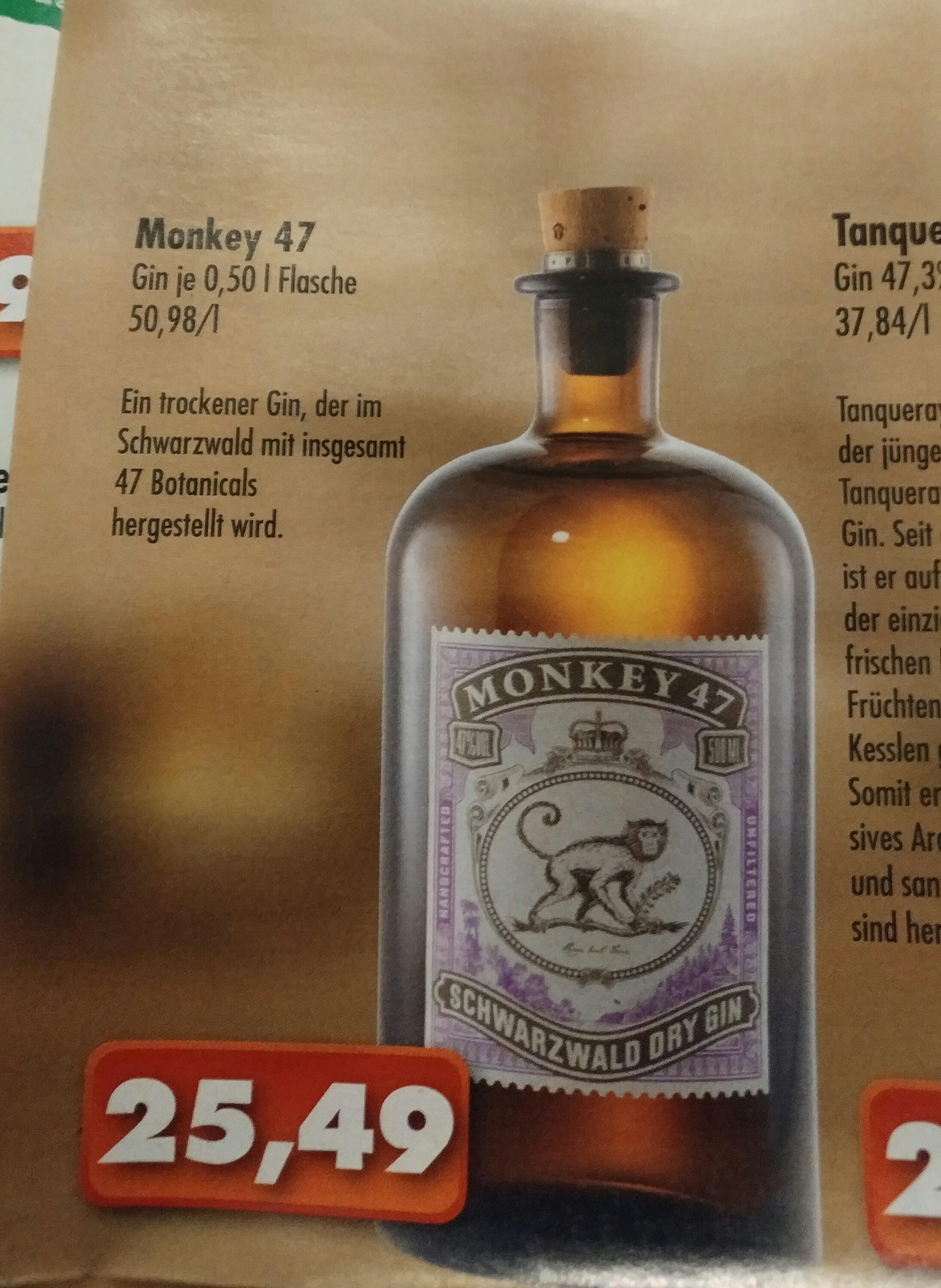 [Vollgut Lokal] Monkey 47 Gin 0,5 l