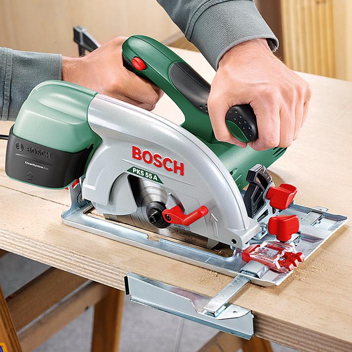 [Bauhaus] Bosch PKS 55 A Handkreissäge durch TPG und 5 Jahre Garantie