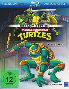 Teenage Mutant Ninja Turtles alle 169  Episoden (Blu-ray)  bei Media Dealer
