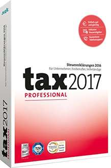Amazon tax 2017 Professional ( wahlweise CD oder Download Version) bei Amazon Tagesdeal