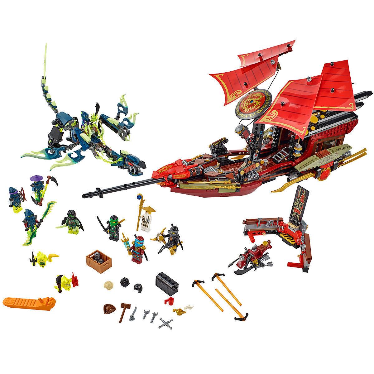 Lego Ninjago 70738 Der letzte Flug des Ninja-Flugseglers für 68,15€ bei [Karstadt]