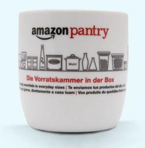 Amazon Pantry Gratis Tasse zu jedem Einkauf ab 40€