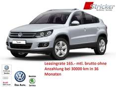 Tiguan Leasing ab 165€ (brutto) ohne Anzahlung - 36 Monate bei 10.000km p.a.