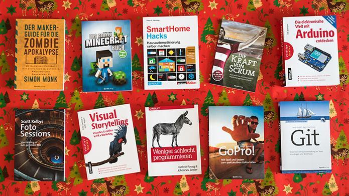 dpunkt.verlag und O'Reilly Deutschland - Adventaktion: E-Books von dpunkt und O'Reilly verschenken