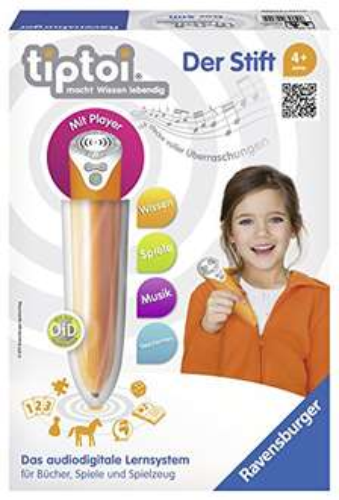 Blitzangebot: Ravensburger 00700 - tiptoi Stift mit Player für 21,99 €