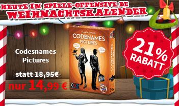 [Spiele-Offensive] Codenames Pictures 14,99€ + VSK (Sparen der VSK durch Sammeln möglich)