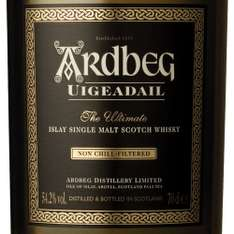 "Ardbeg Uigeadail Whisky (""The Best Whisky In The World"" - Whisky Bibel)"