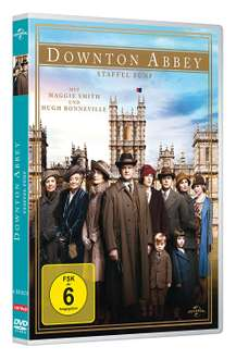Downton Abbey – Staffel 5 [DVD] für 8,99€ bei Thalia