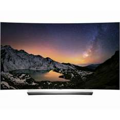"[Redcoon Cashback] 3D 4K HDR10 Dolby Vision ready LG C6D 65"" OLED Curved TV + Vogel's NEXT Wandhalterung"