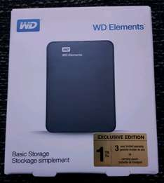 WD Elements 1 TB  Exclusive Edition Media Markt in Essen