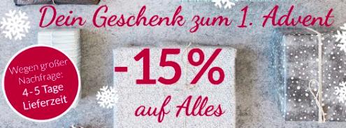 Bis morgen 15% Rabatt auf alles außer Sale + 5€ NL-Gutschein bei pinkmilk