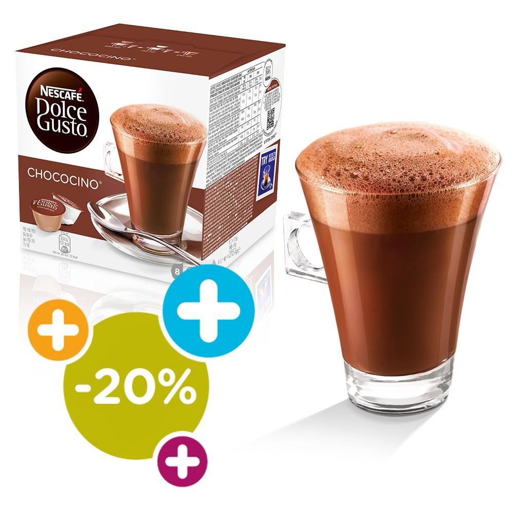Schockolade! Chococino für nur 2,74 €! Bei Dolce Gusto Shop!