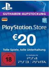 [G2A] PSN Card DE 20€ für 17€