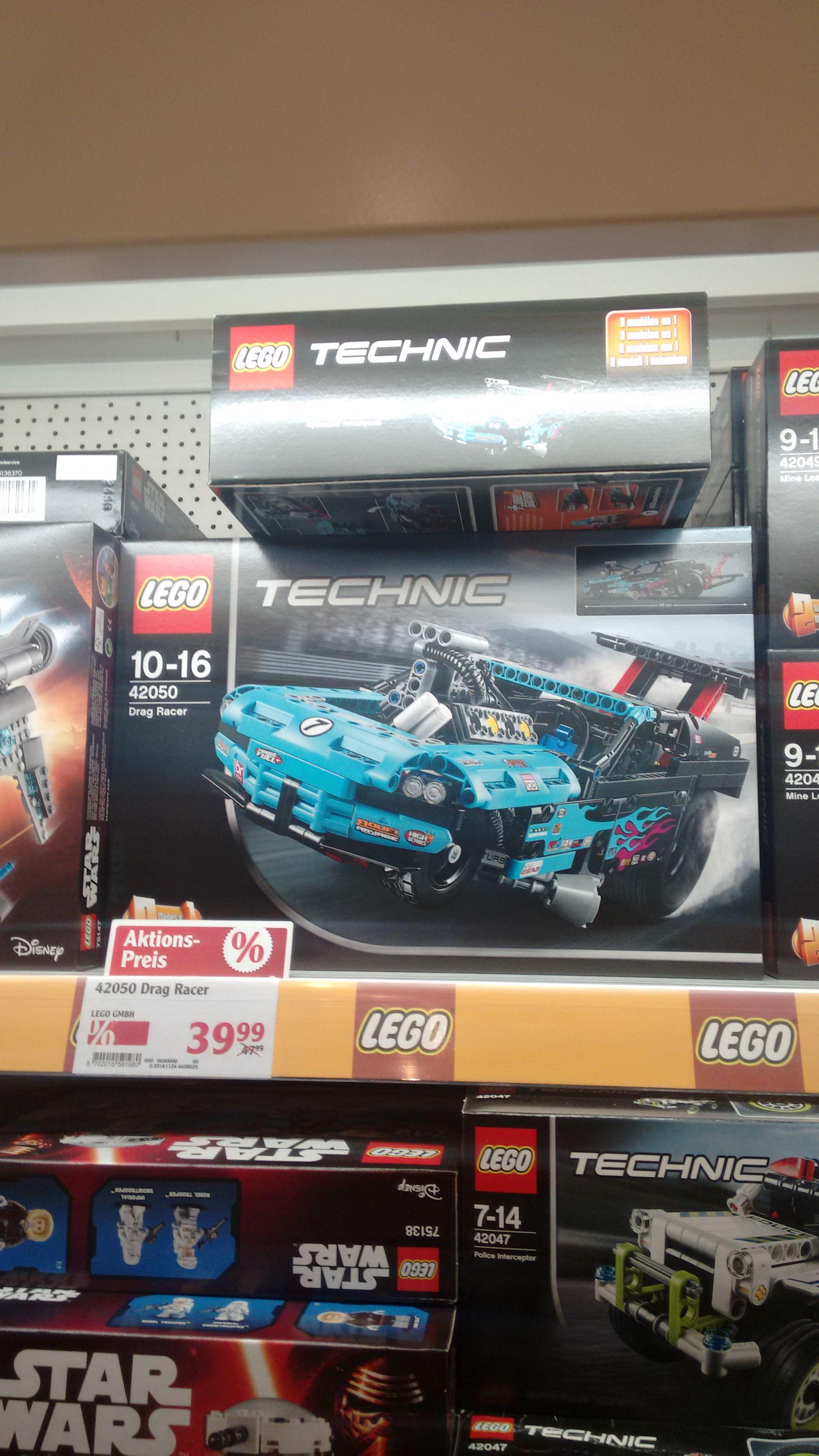 Lokal: Globus Ludwigshafen Oggersheim, Lego Technik Drag Racer 42050