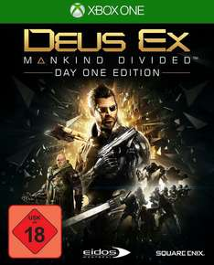 Deus Ex - Mankind Divided (Xbox One) plus Sunset Overdrive gratis
