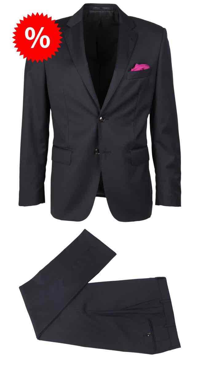 20% auf Sale bei Linus-store.com - z.B. Slimfit Anzug S100 reine Schurwolle für € 152,00