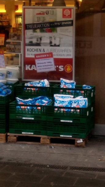 [Lokal Köln Sülz] Gratis 12kg Streusalz bei Kaisers