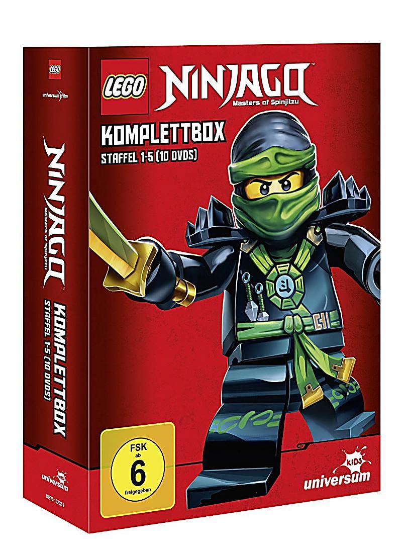 [lokal Media Markt Berlin Alexa] Lego Ninjago Komplettbox Staffel 1-5 (10 DVDs) für 25€