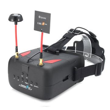 Eachine VR D2 FPV Brille + Eachine ET526 5.8G 40CH 25mW/200mW/600mW Transmitter