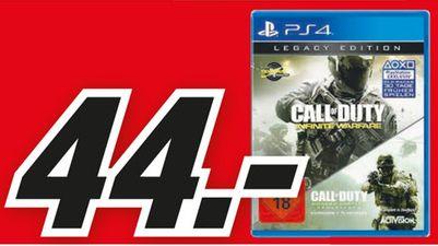 [Lokal Mediamarkt Köln-Kalk] Tagesangebot Verkaufsoffener Sonntag 04.12--Call of Duty: Infinite Warfare Legacy Edition [PS4] für 44,-€