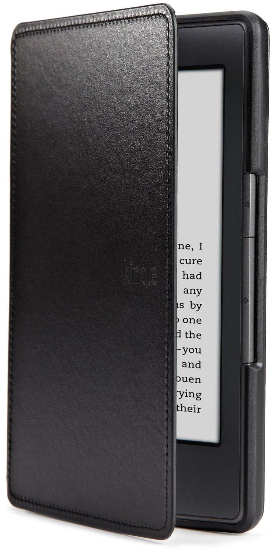Amazon Kindle Lederhülle (5. Generation - 2012 Modell), Schwarz, Warehouse Deal