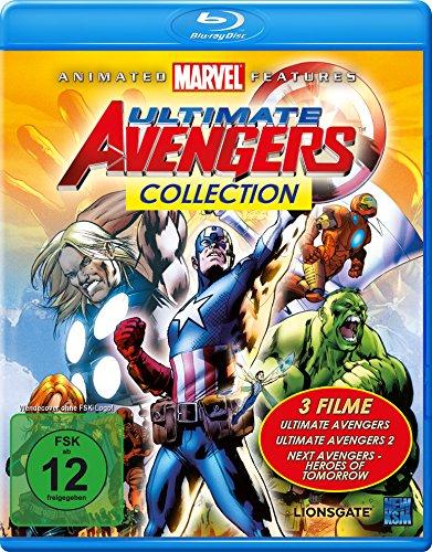 [Amazon.de/ MediaMarkt] Ultimate Avengers Collection (3 Filme Edition) [Blu-ray]