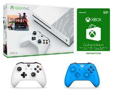 [Microsoftstore][299€] Xbox One S / BF1 / 2 Controller / 50€ Storeguthaben