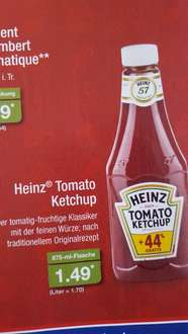 [Aldi Nord] Heinz Tomato Ketchup
