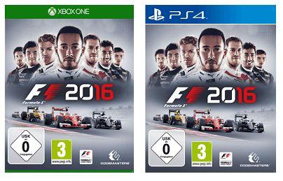 F1 2016 (Xbox One und Playstation 4) für je 29.99€ Versandkostenfrei [Saturn Online Offers]