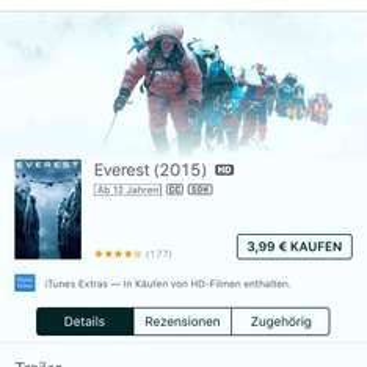 Everest iTunes HD Kauffilm