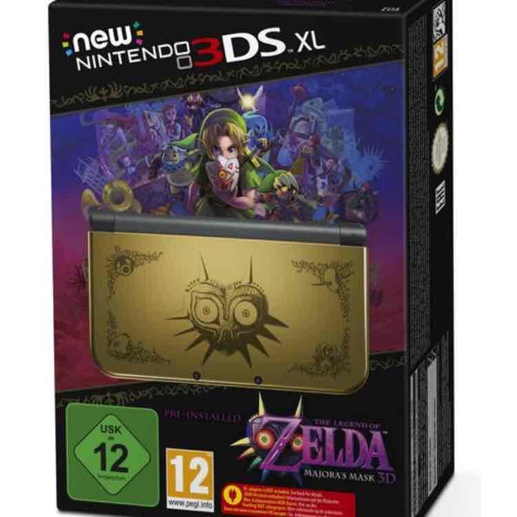 New 3 DS XL Majoras Mask Edition bei Buch.de für 277,99