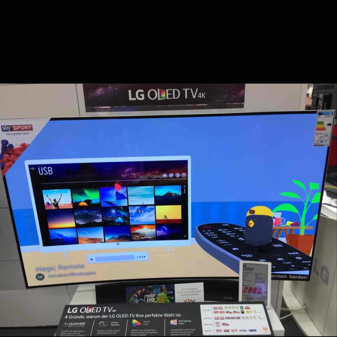 LG OLED 55C6D Deutsches Model