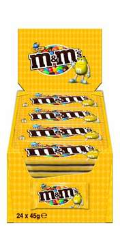 24er Pack M&M's Peanut (24x45g) [Amazon Prime]