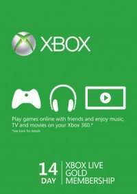 7/14 Day Trial Xbox Live Gold Mitgliedschaft
