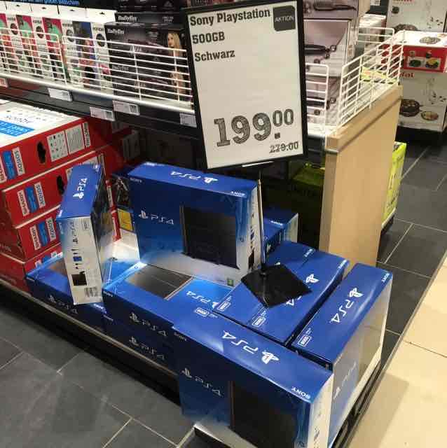 [lokal] PS4 500GB im Rewe Center Wandsbek HH