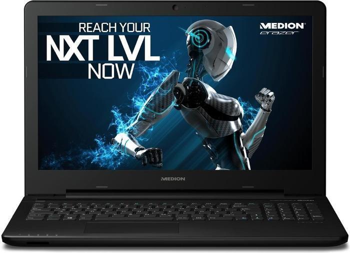 Medion Erazer P6661 - i5-6200U, GTX 950M, 8GB RAM, 256GB SSD, mattes 15,6 Full-HD-IPS-Display für 649€ @ Notebooksbilliger