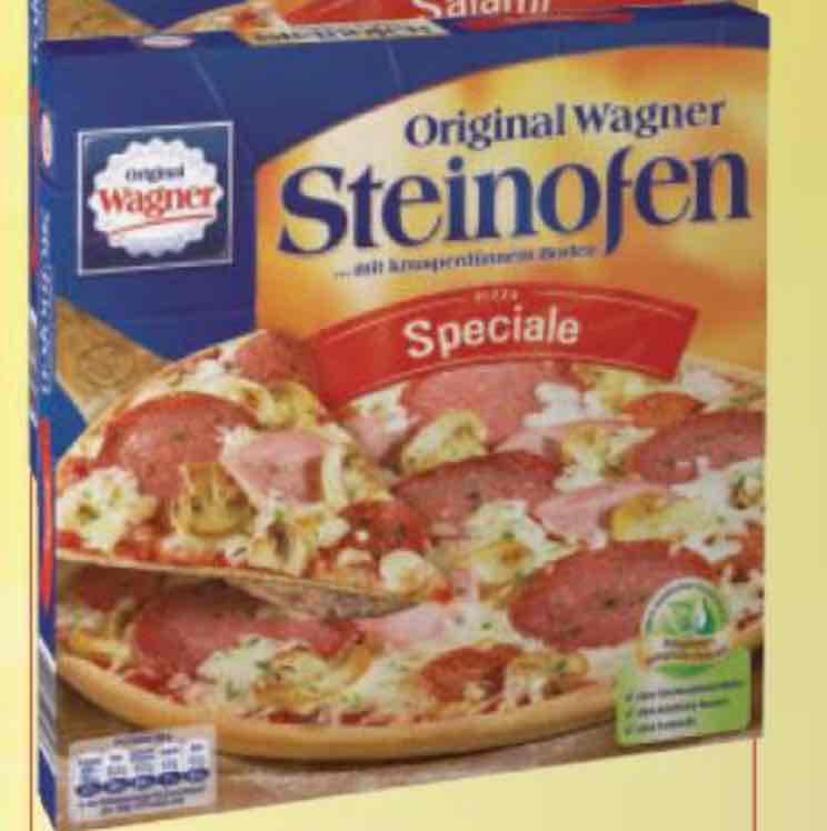 [Lokal Edeka Göttingen] Original Wagner Steinofen Pizza 1,59€