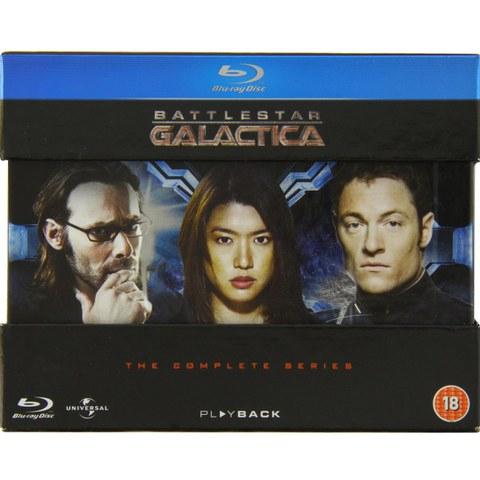 [zavvi] [Blu-ray] Battlestar Galactica Komplettbox in englischer Sprache 23,99€